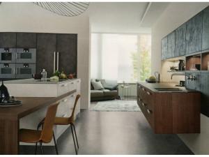 Moderní betonové kuchyně
