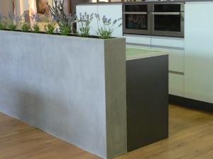 Designové betonové kuchyně