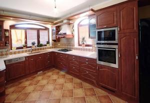 Originální rustikální kuchyně Gabon