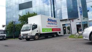 Stěhování firem a komerčních prostor Praha